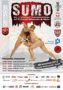 Międzynarodowe Mistrzostwa Polski w SUMO – POLAND OPEN 2012