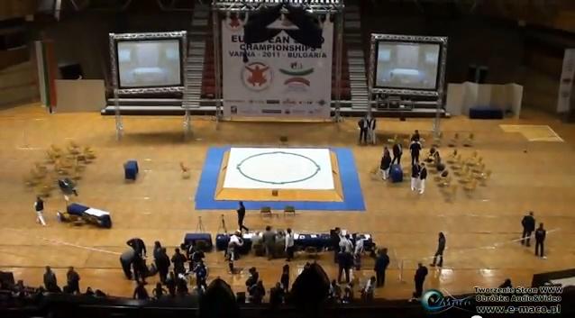 Mistrzostwa Europy w Sumo VARNA 2011 - Trailer