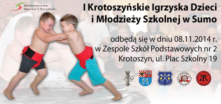 I Krotoszyńskie Igrzyska Dzieci i Młodzieży Szkolnej w Sumo