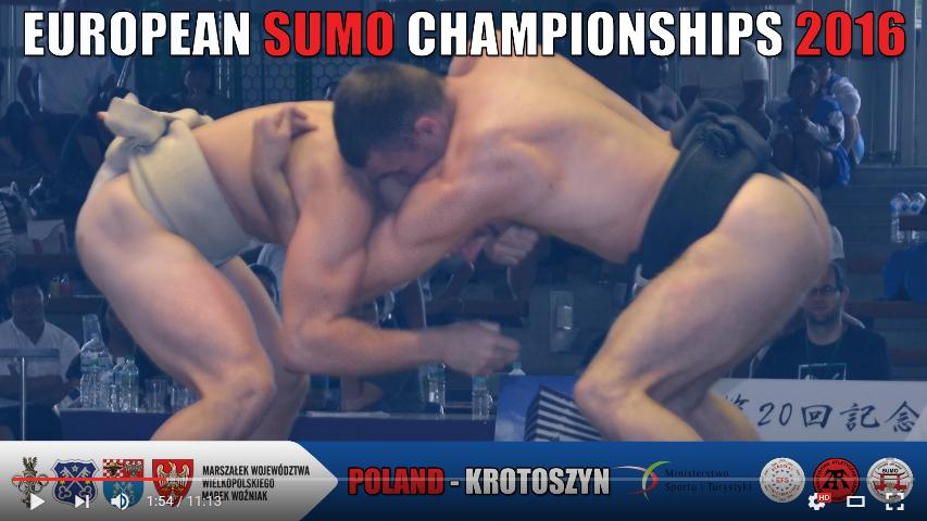 European Sumo Championships 2016 (Trailer)
