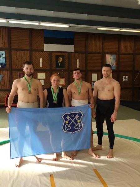 Spisali się na medal(e) w Estonii